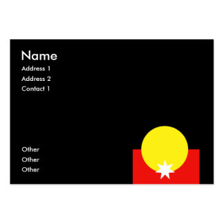 Australian Aborigine Business Card Templates
