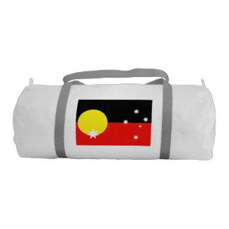 Australian Aborigine Gym Duffel Bag