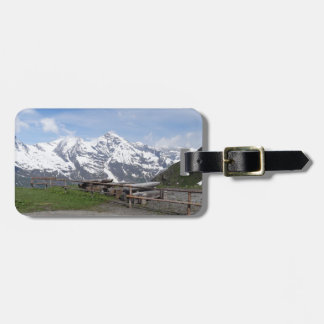 Australian Alps custom luggage tag