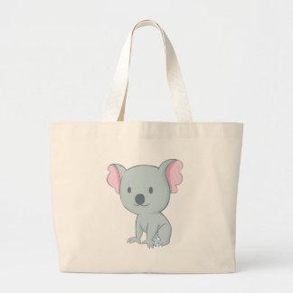 Australian Baby Koala Bear Large Tote Bag