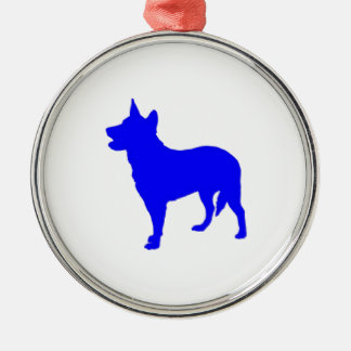 Australian Blue Heeler Christmas Ornament