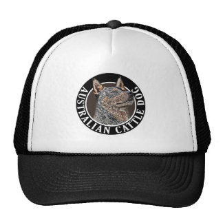 Australian Cattle Dog 002 Hats