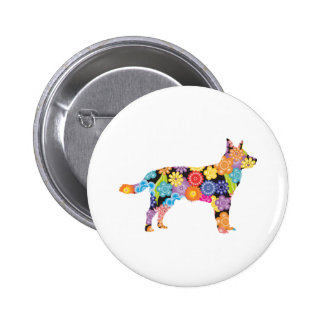 Australian Cattle Dog 6 Cm Round Badge