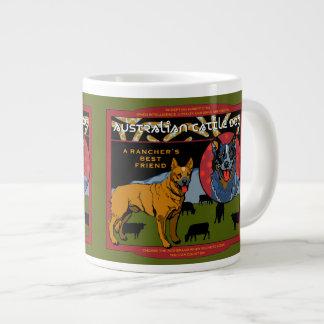 Australian Cattle Dog - A Rancher's Best Friend Large Coffee Mug