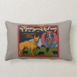 Australian Cattle Dog - A Rancher's Best Friend Lumbar Cushion