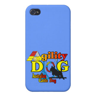Australian Cattle Dog Agility Cover For iPhone 4