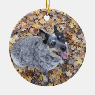 AUSTRALIAN CATTLE DOG BLUE HEELER CHRISTMAS ORNAME CHRISTMAS ORNAMENT