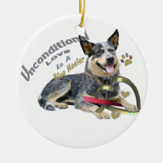 Australian cattle dog blue heeler Ornament