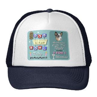 Australian Cattle Dog Bowling Night Hats