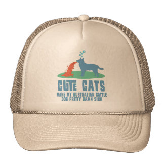 Australian Cattle Dog Trucker Hats