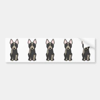 Australian Cattle Dog Cartoon Bumper Stickers