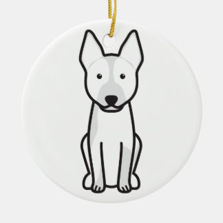 Australian Cattle Dog Cartoon Christmas Ornament