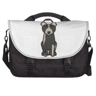 Australian Cattle Dog Cartoon Commuter Bag
