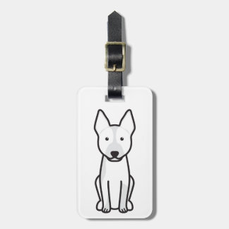 Australian Cattle Dog Cartoon Luggage Tag