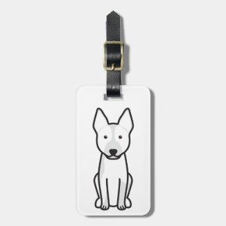 Australian Cattle Dog Cartoon Travel Bag Tag