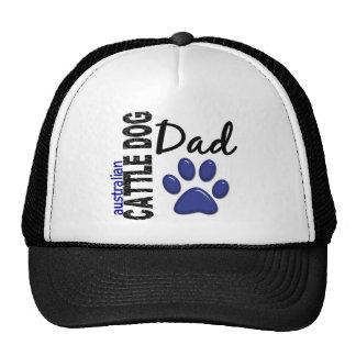 Australian Cattle Dog Dad 2 Hats