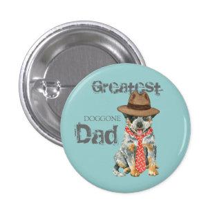 Australian Cattle Dog Dad 3 Cm Round Badge
