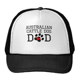 Australian Cattle Dog Dad Mesh Hats