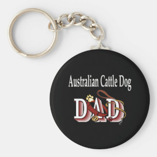 australian cattle dog dad Keychain