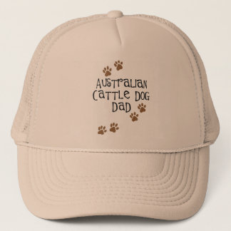 Australian Cattle Dog Dad Trucker Hat