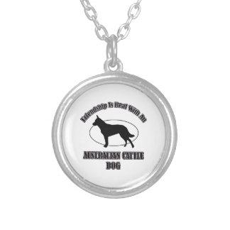 AUSTRALIAN CATTLE DOG DOG DESIGNS CUSTOM NECKLACE