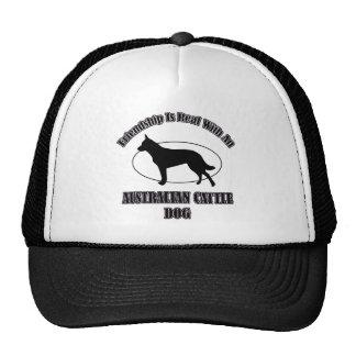 AUSTRALIAN CATTLE DOG DOG DESIGNS MESH HATS