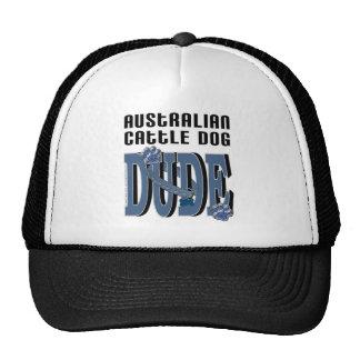 Australian Cattle Dog DUDE Mesh Hats