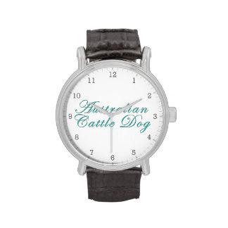 Australian Cattle Dog Wrist Watch
