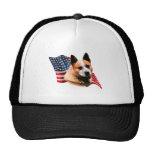 Australian Cattle Dog Flag Hats