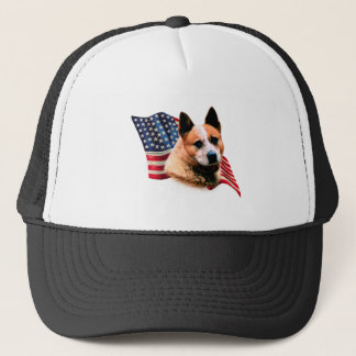 Australian Cattle Dog Flag Trucker Hat