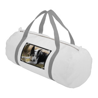 Australian Cattle Dog Gym Duffel Bag