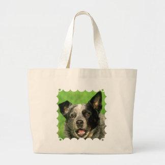 Australian Cattle Dog Jumbo Tote Bag