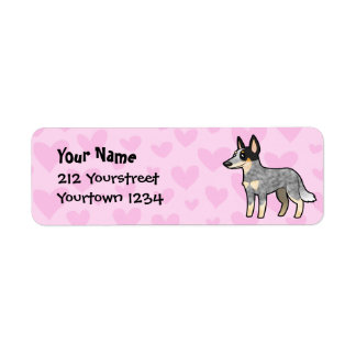 Australian Cattle Dog / Kelpie Love Return Address Label