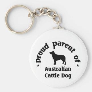 Australian Cattle dog Key Chains