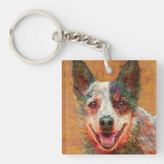 australian cattle dog keychain