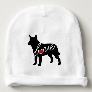 Australian Cattle Dog Love Baby Beanie