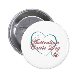 Australian Cattle Dog Love Buttons