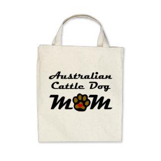 Australian Cattle Dog Mom Tote Bags