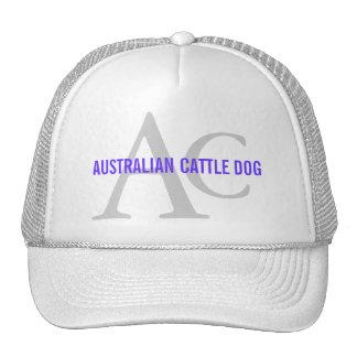 Australian Cattle Dog Monogram Cap