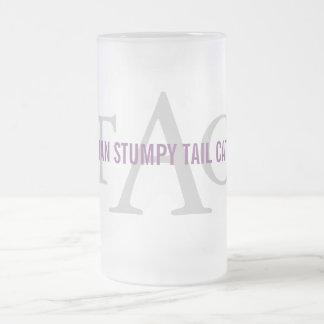 Australian Cattle Dog Monogram Frosted Glass Mug