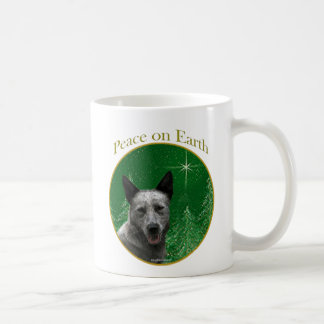 Australian Cattle Dog Peace Basic White Mug