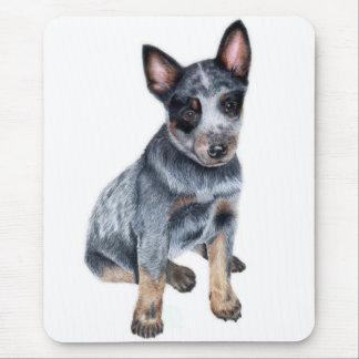Australian Cattle Dog puppy Mouse Mat