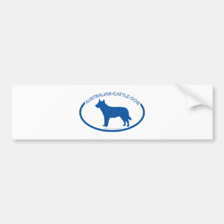 Australian Cattle Dog Silhouette Bumper Sticker