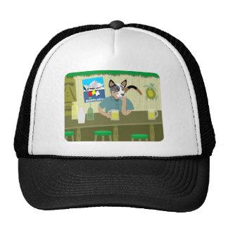 Australian Cattle Dog Tiki Bar Hats