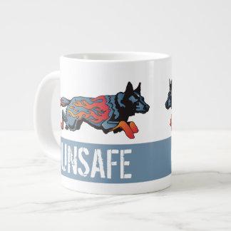 Australian Cattle Dog - Unsafe at any Speed Giant Coffee Mug