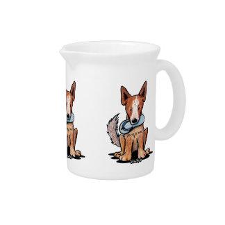 Australian Cattledog Pitcher