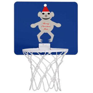 Australian Christmas Koala Bear Basketball Hoop