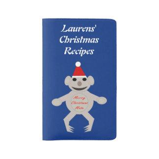 Australian Christmas Koala Bear Custom Large Moleskine Notebook