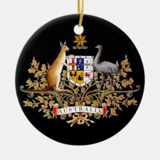 Australian Coat of Arms Christmas Tree Ornament