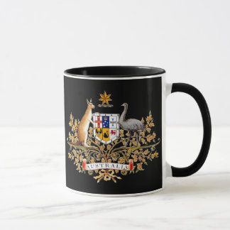 Australian Coat of Arms Mug